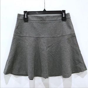 Banana Republic Ponte Flirty Flare Mini Skirt